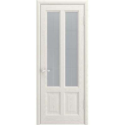 Межкомнатная дверь Титан-3 дуб RAL 9010 ДО | Ульяновские Двери